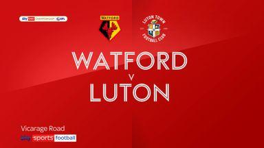 Watford 1-0 Luton