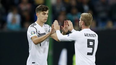 Havertz excited about Werner partnership