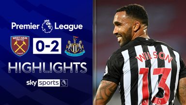 Wilson debut goal helps Newcastle beat West Ham