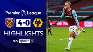 Bowen scores twice as West Ham beat Wolves