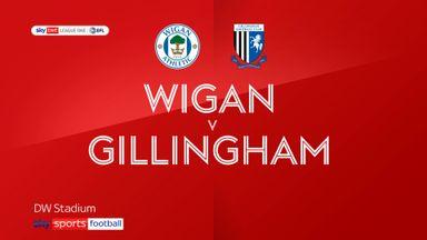 Wigan 2-3 Gillingham
