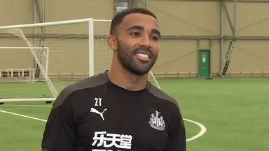 Wilson inspired by past Newcastle strikers
