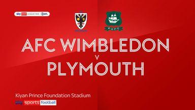 AFC Wimbledon 4-4 Plymouth