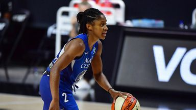 Rookie star Dangerfield leads Lynx into semis