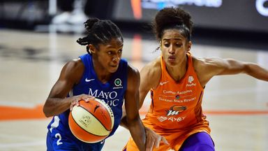 WNBA playoffs R2: Mercury 79-80 Lynx