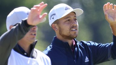 Schauffele nails 50-foot birdie