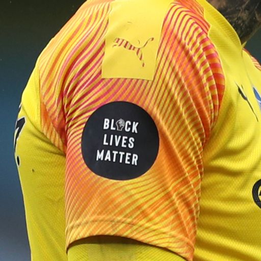 Premier League drops Black Lives Matter slogan from shirts