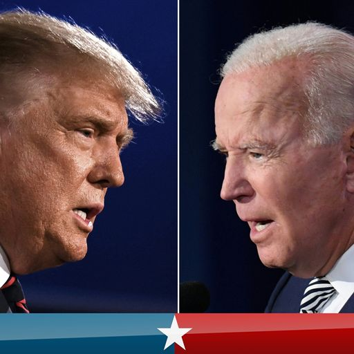 US election 2020: Debate rules to change after chaotic Trump-Biden exchange