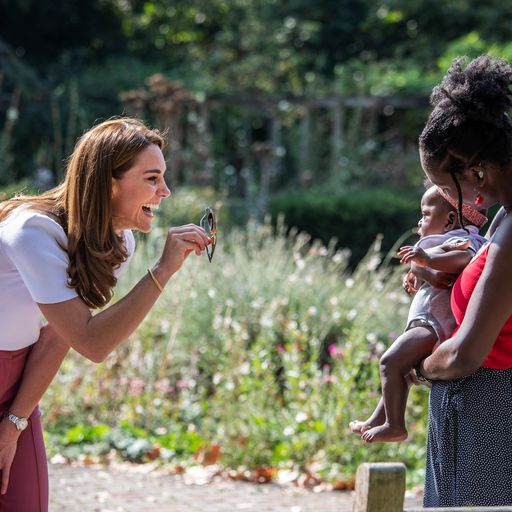 Duchess of Cambridge praises mums offering support during pandemic