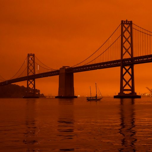 San Francisco sky turned orange as several killed by flames across state