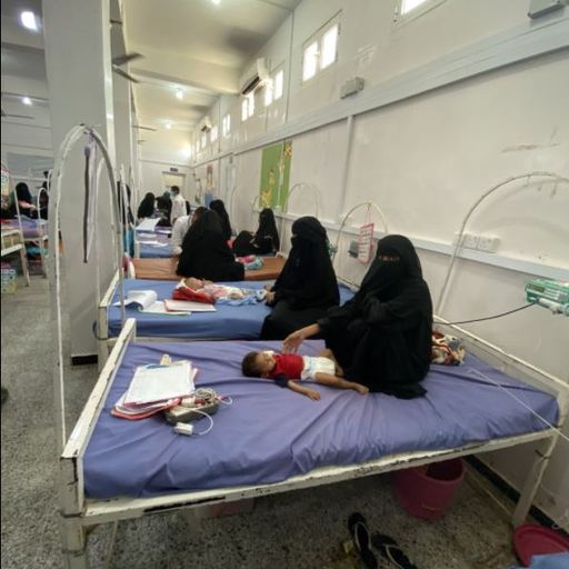 This desperate children's hospital in Yemen could be the closest thing to hell on Earth
