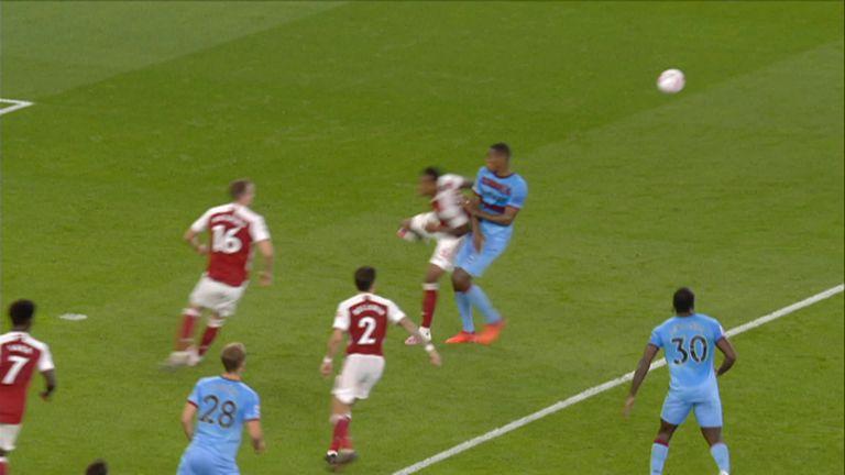 Gabriel Handball A Clear Penalty Video Watch Tv Show Sky Sports