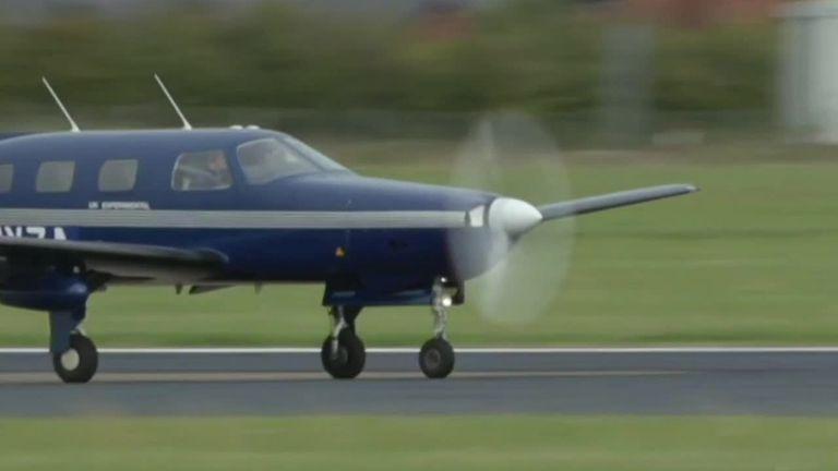 Hydrogen-powered passenger plane takes flight