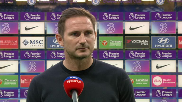 Chelsea manager Frank Lampard says there were still lots of positives to take from the game despite being beaten 2-0 at home to Liverpool in the Premier League.