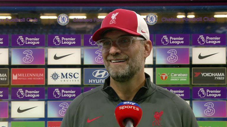 Liverpool manager praised Fabinho, Sadio Mane and Thiago afterwards