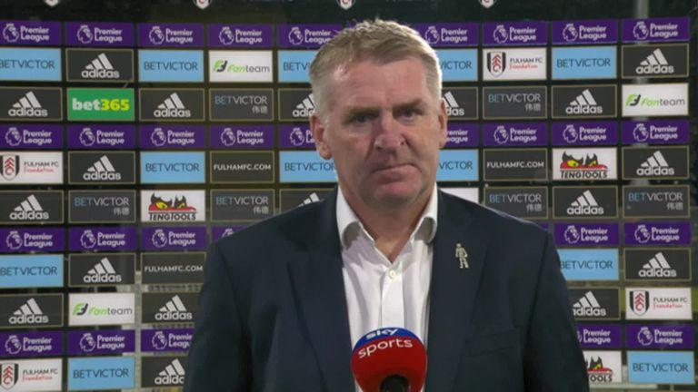 Aston Villa manager Dean Smith praised John McGinn for his performance against Fulham