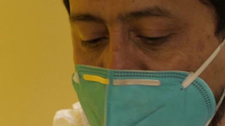 Dr Ivan Melendez, from Hidalgo County Health Authority
