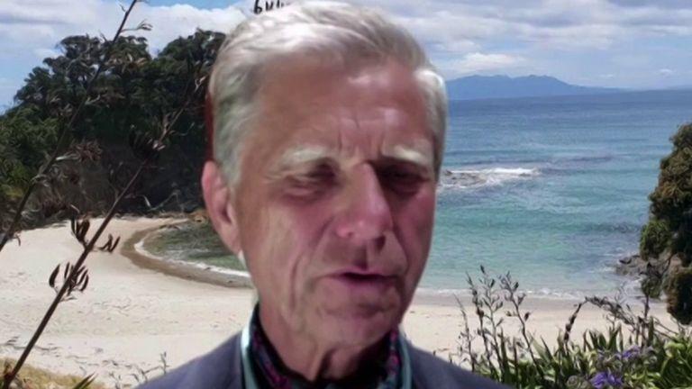 Hermann Hauser, co-founder of Arm Holdings, speaks to Sky's Ian King