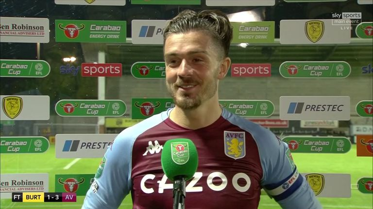 Grealish admits it was a 50/50 decision whether he stayed with Aston Villa and that he only decided to sign the new contract on Monday