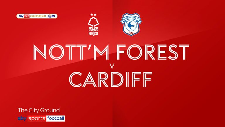 Highlights of the Sky Bet Championship game between Nottingham Forest and Cardiff