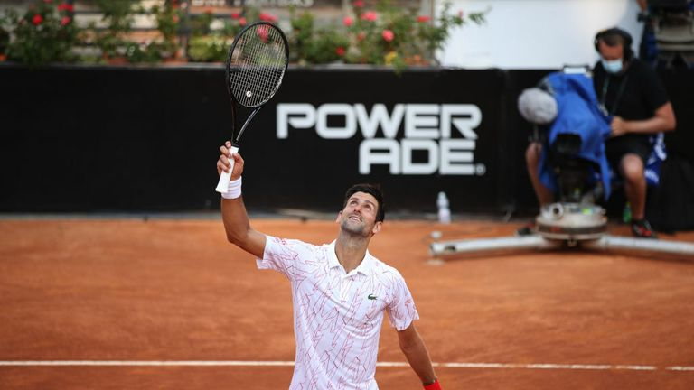 Novak Djokovic is now just one win away from a record 36th ATP Masters 1000 trophy
