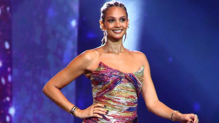 Britain's Got Talent judge Alesha Dixon. Pic: ITV/ Syco/ Thames