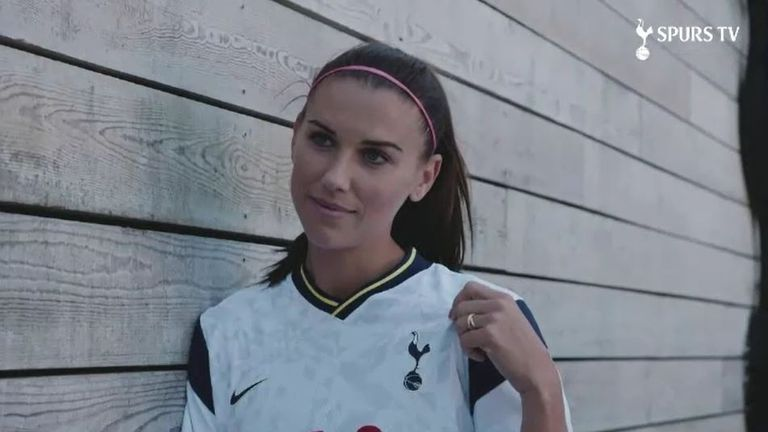 Alex Morgan has signed for Tottenham Hotspur