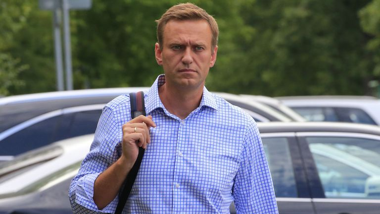 Russian opposition leader Alexei Navalny fell ill while on a plane in Russia