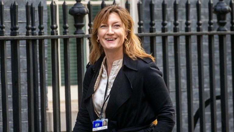 Allegra Stratton is a former ITV news editor and current Head of Communications for Chancellor Rishi Sunak