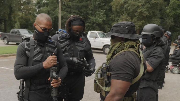 Black militia organization NFAC