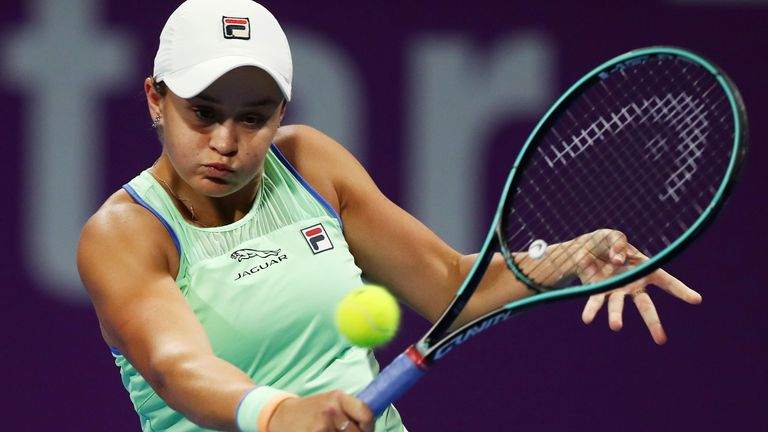 Ashleigh Barty is the first big name to drop out
