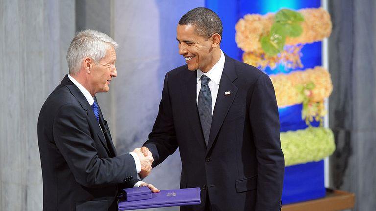 Barack Obama won the Nobel Peace Prize in 2009