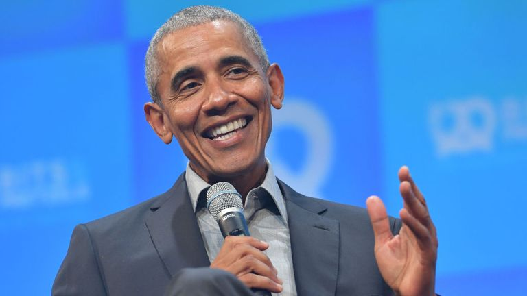 Yes he can: Barack Obama is set to release the first volume of his memoir