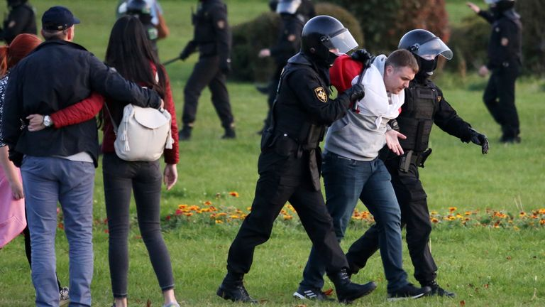 BELARUS-POLITICS-UNREST-DEMO