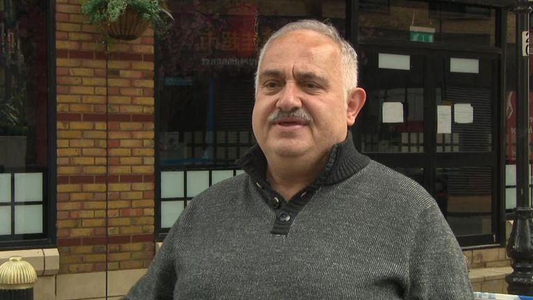 Savvas Sfrantzis saw a woman attacked in Birmingham city centre