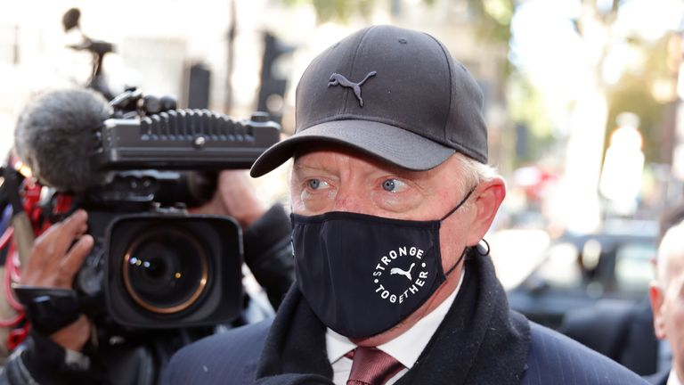 Boris Becker's Insolvency Hearing
