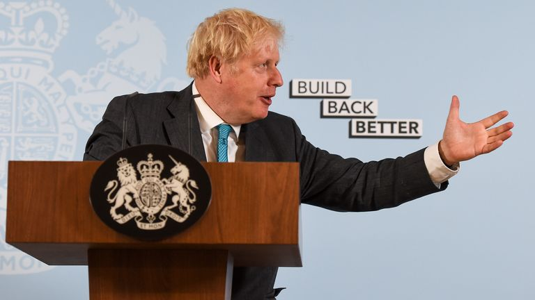 Boris Johnson admitted he 'misspoke' about rules in the North East