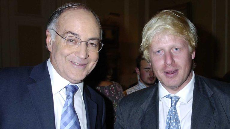 Michael Howard and Boris Johnson in 2004. Pic: Alan Davidson/Shutterstock
