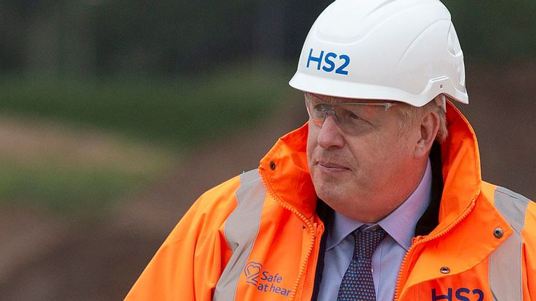 Boris Johnson spoke about the Harry Dunn while on a visit to Solihull on Friday