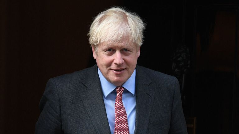 Boris Johnson will make a statement in the House of Commons later
