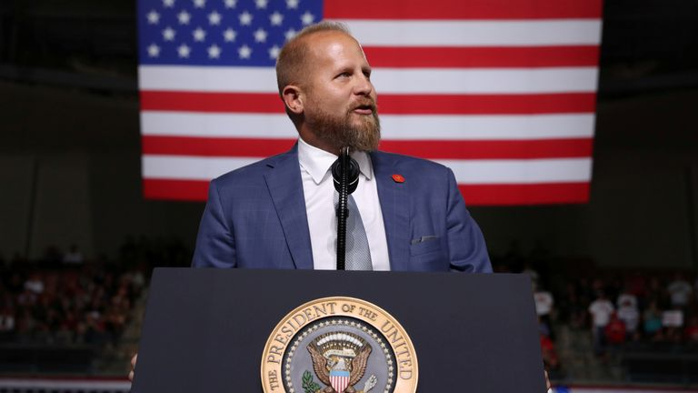 Brad Parscale has been taken to hospital