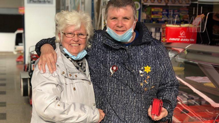 Irene Catlow and Patt Caroll