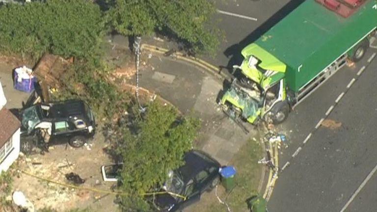 Kidbrooke crash
