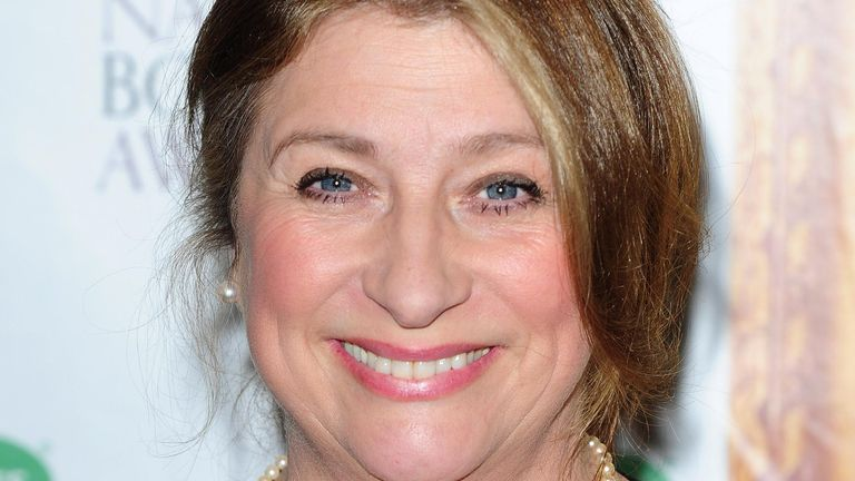 Actress Caroline Quentin, who is one of the first three famous faces confirmed to appear in this year's Strictly Come Dancing.