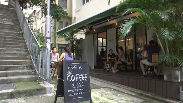 The Found Cafe in Hong Kong
