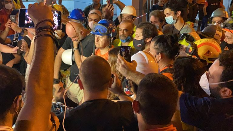Chilean rescue team confirms they have found no signs of life in the rubble