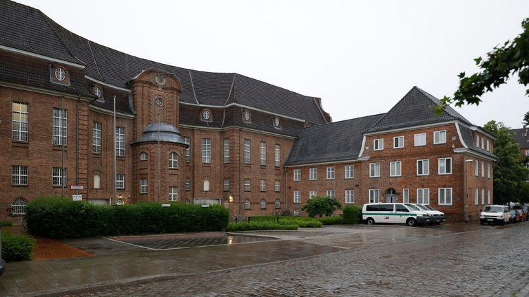 JVA Kiel prison in Kiel, Germany