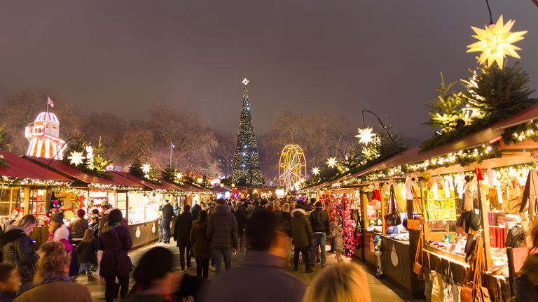 Some Christmas markets have also said they won't go ahead