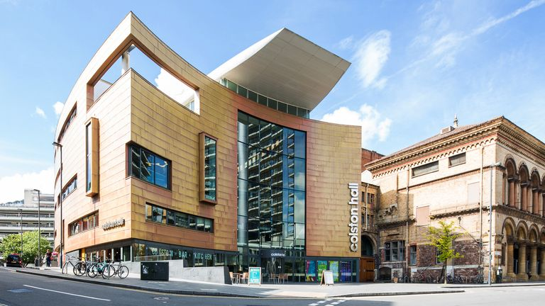 Colston Hall - now Bristol Beacon - is one of several places in Bristol named after the slave trader. Pic: Bristol Music Trust