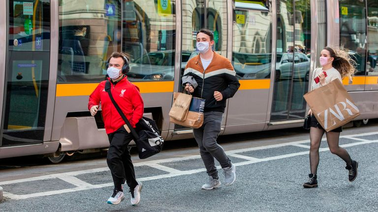 People are being advised to only travel out of Dublin if it is essential to do so